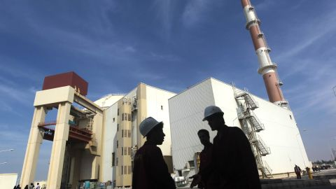 Russians built the Bushehr nuclear power plant, shown here, and has vowed to build more reactors for Iran.