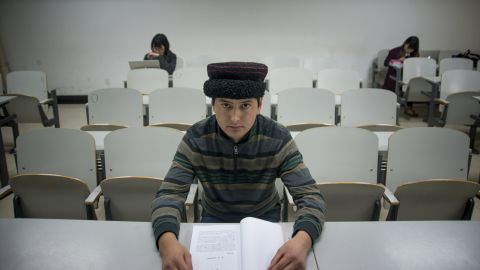 My name is Memedik Dilkar. I'm from Xinjiang, I'm a Tajik and I'm 24 years old. My hometown is a village in the Tashkurgan Tajik Autonomous County. I graduated from college in 2012 and became an operation manager at a local firm in Xinjiang. Now I'm studying at Minzu University of China. I wish to get a bachelor's degree so I can find a steady job.