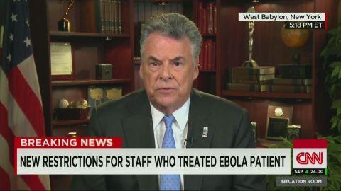 tsr bts peter king ebola response_00013126.jpg