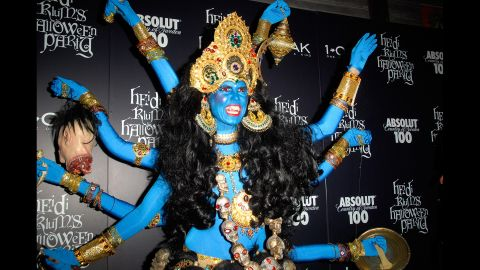 Supermodel Heidi Klum throws a Halloween party every year, and her costumes are famously elaborate. In 2008, Klum dressed as Kali, the Hindu goddess of destruction, leading some Hindus to decry her appropriation of an important religious symbol. Click through the gallery for more costume fails.