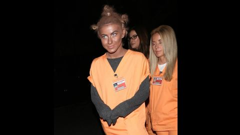 """Rule 1: No blackface. Actress and dancer Julianne Hough learned this rule the hard way when she <a href=""""http://www.cnn.com/2013/10/29/showbiz/celebrity-news-gossip/julianne-hough-blackface-dwts/"""">dressed</a> as """"Orange is the New Black"""" character """"Crazy Eyes"""" for Halloween in 2013. """"It certainly was never my intention to be disrespectful or demeaning to anyone in any way. I realize my costume hurt and offended people and I truly apologize,"""" Hough said via Twitter."""