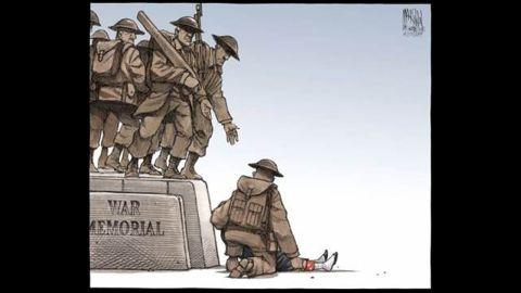 Bruce MacKinnon's cartoon for the Halifax Chronicle Herald captured Canada's national mood.