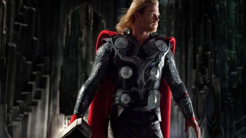 Chris Hemsworth played Thor in the Avengers films as well as three of his own.