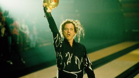 """The crazy Murray returned in 1996's """"Kingpin,"""" a Farrelly brothers film in which Murray plays Ernie McCracken, an over-the-top bowler. Murray did a lot of his own bowling, including a sequence in which he hits three straight strikes."""