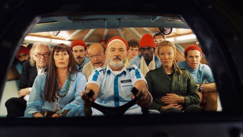 """In """"The Life Aquatic with Steve Zissou"""" (2004), another Wes Anderson film, Murray plays a Jacques Cousteau-type undersea adventurer."""