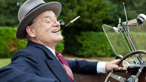 """Murray hasn't done many historical dramas, but he made another change of pace with """"Hyde Park on Hudson"""" (2012), in which he played President Franklin D. Roosevelt. The story is about Roosevelt's affair with a distant cousin, played by Laura Linney."""
