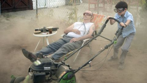 """Murray's latest film, """"St. Vincent,"""" stars him as a stroke victim who befriends the son of a neighbor."""