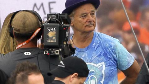"""One of Murray's sons attends Clemson University, and Murray was on hand for an """"ESPN Gameday"""" in 2013 for the Clemson-Florida State game. He disagreed with ESPN expert Lee Corso and <a href=""""http://deadspin.com/lee-corso-picks-fsu-dons-chief-osceola-garb-bill-murr-1448342124"""" target=""""_blank"""" target=""""_blank"""">then body-slammed him</a>."""
