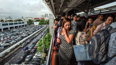 Women in Bangkok said they weren't confident fellow passengers would intervene and assist if they were physically or verbally attacked.