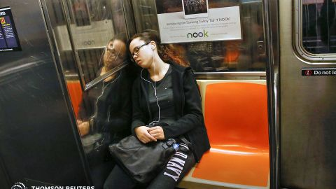 Three out of 10 women surveyed in New York -- found to have the world's safest transport system of the cities included in the report -- said they'd suffered verbal or physical harassment while using the city's subway system and buses. New York transit is equipped with a growing network of CCTV cameras.