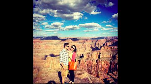 Britanny Maynard and her husband Dan Diaz.