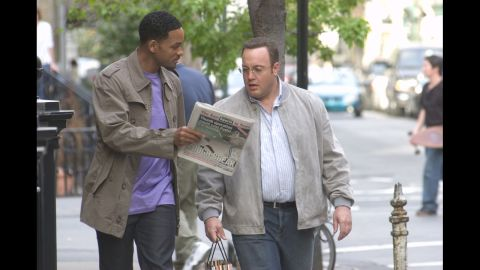 """<strong>""""Hitch""""</strong>: Will Smith's 2005 romantic comedy with Kevin James is in steady rotation on cable TV, but that isn't stopping Fox from pursuing a TV series that would adopt the story into a workplace comedy."""