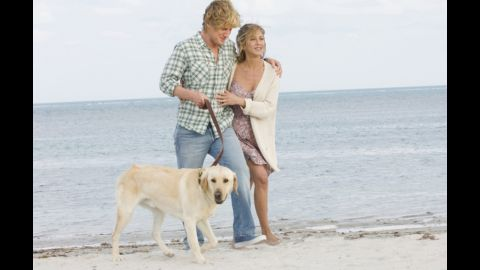 """<strong>""""Marley & Me""""</strong>: Once upon a time, """"Marley & Me"""" was just a book about a guy and his frustrating but beloved dog. Then it was turned into a 2008 movie with Jennifer Aniston and Owen Wilson. And now, <a href=""""http://insidetv.ew.com/2014/10/17/nbc-marley-me-tv-series/"""" target=""""_blank"""" target=""""_blank"""">over on NBC</a>, a sequel to that movie could become the network's newest comedy."""