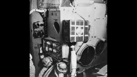The U.S. lunar mission Apollo 13 in April 1970 lost the use of an oxygen tank necessary to supply air and power. The three-man crew successfully used the lunar module shown as a lifeboat.