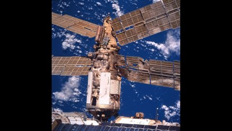 During a June 1997 docking exercise, an unmanned cargo vessel crashed into Mir, disrupting the station's power supply and partially depressurizing the living quarters.