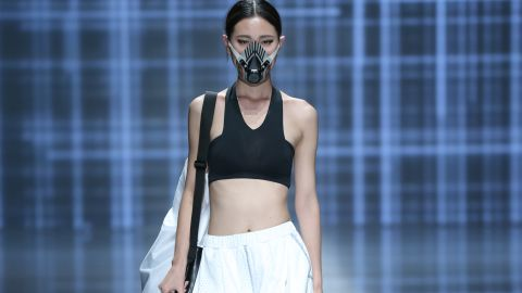Fashion designers are even incorporating face masks into designs and runway shows.