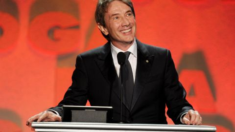 """Martin Short, 64, details his life and career in his new memoir, """"I Must Say: My Life As a Humble Comedy Legend."""""""