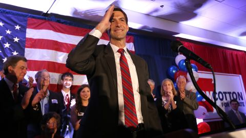 Following a highly contested senate race, Rep. Tom Cotton managed to unseat Democratic Sen. Mark Pryor. He is the first Iraq and Afghanistan War veteran to serve in the Senate.