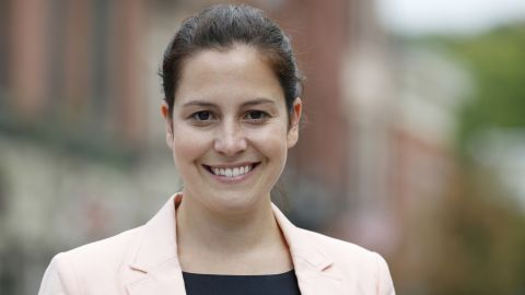 New York Republican Elise Stefanik just became the youngest woman ever elected in Congress. The 30 year old beat Democrat Aaron Wolf with a 20 percentage point margin.