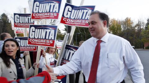 Republican Frank Guinta ousted Rep. Carol Shea-Porter in New Hampshire's 1st District. He formerly served as mayor of Manchester, NH.