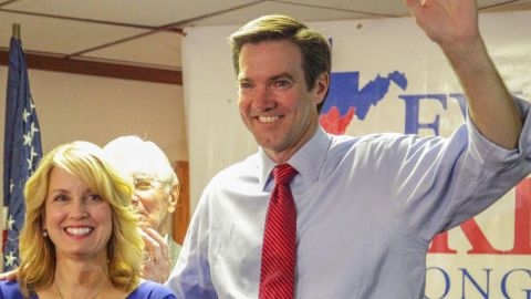 West Virginia State Sen. Evan Jenkins unseated Democratic incumbent Nick Rahall, who has represented District 3 for three decades.