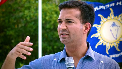 Republican Carlos Curbelo flipped a South Florida Democratic Congressional District. Curbelo managed to beat Democratic first- term incumbent Jose Garcia.