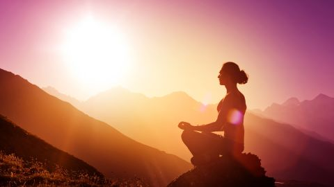 Scientists are trialling both meditation and psychedelic drugs as potential treatments due to their perspective-altering effect on the mind.