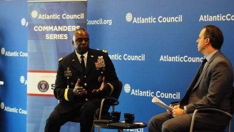 Army Gen. Lloyd Austin speaks with CNN's Jake Tapper.