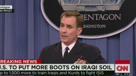 lead sot kirby pentagon troops will be sent to iraq_00014825.jpg