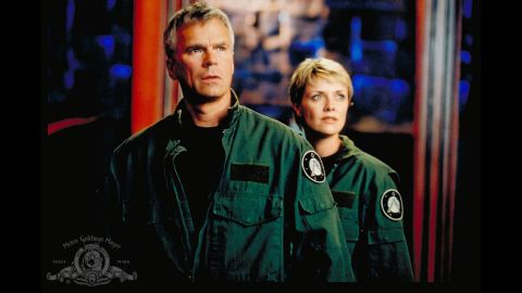 """One of the most popular choices among Redditors, """"Stargate: SG-1"""" picks up where the 1994 feature film """"Stargate"""" left off as a secret military team (SG-1) sets out to explore new worlds. The popular sci-fi show hooked viewers for 10 seasons from 1997 to 2007 through memorable characters, scenes and quotable dialogue, creating a passionate fan base that seems eager to return to the show multiple times. """"When I first binged the series, multiple times I noticed that it was 5AM. So many 'just one more episode,' """" <a href=""""http://www.reddit.com/r/AskReddit/comments/2llwhe/what_television_series_is_so_good_its_worth_binge/clw5288"""" target=""""_blank"""" target=""""_blank"""">one Redditor said</a>."""