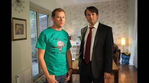 """With only six episodes to a season, British sitcom """"<a href=""""http://www.channel4.com/programmes/peep-show"""" target=""""_blank"""" target=""""_blank"""">Peep Show</a>"""" was a popular choice among Redditors for being """"easy to knock out a few in the afternoon,"""" and hilarious to boot. Anyone new to the mundane world of South London roommates Mark Corrigan (David Mitchell) and Jeremy """"Jez"""" Usborne (Robert Webb) will have plenty of hours of inner monologues and point-of-view shots to wade through. The show debuted in 2003 and is now in its ninth season."""