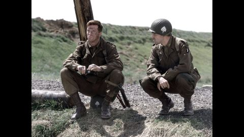 """For some American history buffs, the World War II series """"Band of Brothers"""" is worthy of an annual viewing, even if it takes 11 hours. The 10-part miniseries based on the World War II journey of the U.S. Army 101st Airborne's Easy Company features an ensemble cast of stars before they became famous -- Michael Fassbender, Ron Livingston, Marc Warren, Simon Pegg, Damian Lewis, James McAvoy and Tom Hardy, to name a few."""