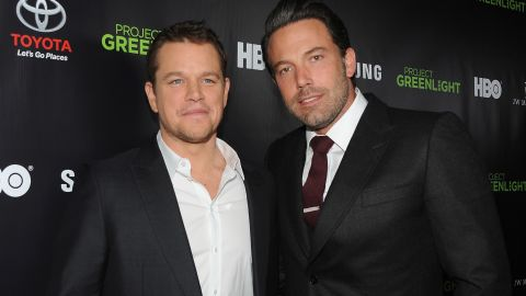"""Matt Damon and Ben Affleck are the poster boys of bromance. In fact, when Affleck was cast as Batman, there were jokes about <a href=""""http://marquee.blogs.cnn.com/2013/08/28/matt-damon-is-not-playing-robin-to-ben-afflecks-batman/"""">Damon playing Robin</a>. After their Oscar-winning script for """"Good Will Hunting,"""" the pair continued to work together in movies like """"Dogma."""" Now they have teamed up again for Syfy thriller """"Incorporated."""" See more of our favorite male besties ..."""
