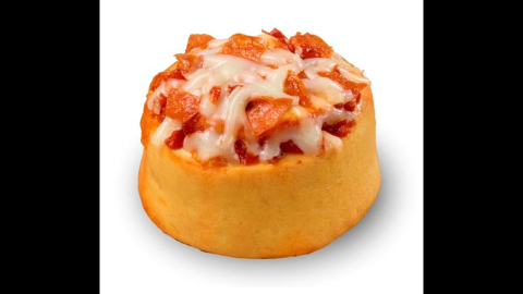 Some mashups test the limits of human decency, like baked good chain Cinnabon's improbable foray into pizza, the Pizzabon. The sausage and cheese-topped cinnamon<strong> </strong>roll was offered at a test location in suburban Atlanta in 2012, never to be seen again, as far as we can tell.