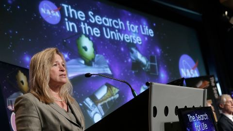 """If we can land a human on Mars in the next decade or so, Ellen Stofan will be a big reason why. Stofan, chief scientist at NASA, <a href=""""http://edition.cnn.com/2014/11/17/tech/humans-mars-2035-nasa/index.html"""">spent much of 2014 outlining her technological roadmap</a> for discovering potentially habitable worlds in our universe. As a woman in the male-dominated science field, Stofan also became a hero to young female pioneers everywhere."""
