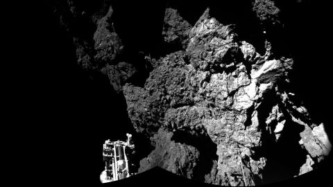 """Her comments come as the European Space Agency landed a probe on a comet. NASA's jet propulsion lab also played a role in the Rosetta Mission, which hopes to unlock the secrets of our universe. """"That comet is the most bizarre, wonderful thing I have ever seen,"""" said Stofan. """"No one has ever gotten data like Rosetta has gotten. No one has ever been able to land on a comet the way Philae just did."""""""