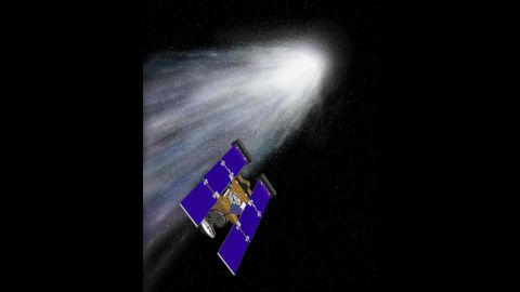 """The Stardust spacecraft was launched on February 7, 1999, from Cape Canaveral, Florida. After traveling 3.5 billion miles (5.6 billion kilometers), the spacecraft made history by capturing images of asteroid Annefrank and collecting samples of comet Wild 2 and successfully returning them to Earth. It also took spectacular images of comet Tempel 1. The <a href=""""http://stardustnext.jpl.nasa.gov/"""" target=""""_blank"""" target=""""_blank"""">probe's mission ended on March 25, 2011</a>, when mission managers put it in safe mode and turned off the transmitter for the last time."""