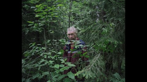 """Tkachenko spent a few days with each man before taking photos. """"They are close to nature and live in harmony with it,"""" he said. """"For them, it is freedom."""""""