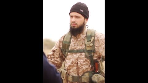 The propaganda video, released on November 16, shows an ISIS member believed to be Frenchman Maxime Hauchard.