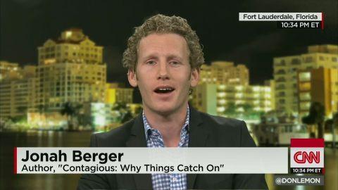 ctn intv berger cosby joke drugging women_00012322.jpg