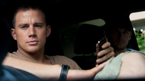"""Channing Tatum (with Alex Pettyfer in """"Magic Mike"""") stripped down and won the honor in 2012."""