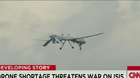 tsr dnt sciutto drone shortage threatens war on isis_00001911.jpg