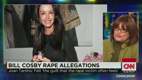 ctn intv tarshis janice dickinson bill cosby rape allegations_00020326.jpg