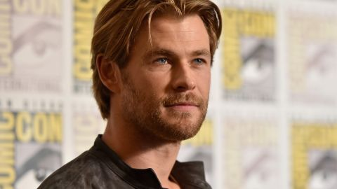 """Chris Hemsworth was viewed as in tight competition with the """"other Chris,"""" a.k.a. Chris Pratt, when Hemsworth snagged the title in 2014."""