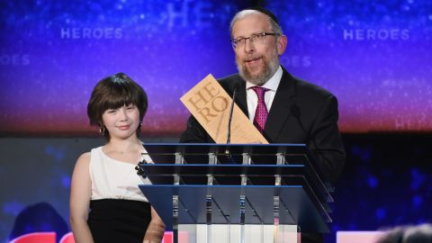 """CNN Hero Elimelech Goldberg founded a program that provides <a href=""""http://www.cnn.com/2014/11/23/world/gallery/cnn-heroes-elimelech-goldberg/index.html"""">free martial arts classes</a> so kids with cancer can learn to control their pain and feel powerful."""
