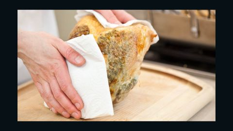 Transfer turkey to carving board and let rest for 20 minutes.