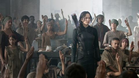"""Jennifer Lawrence is back as archer and freedom fighter Katniss Everdeen in """"The Hunger Games: Mockingjay, Part 1"""" and coming soon, the final film, """"Part 2."""""""