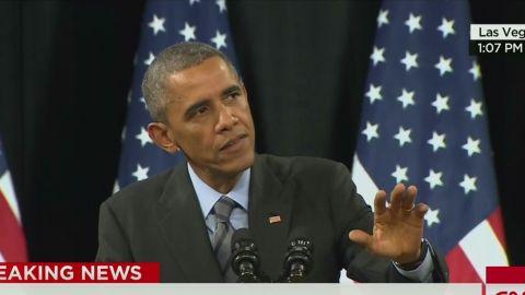 sot obama immigration speech heckler_00011602.jpg