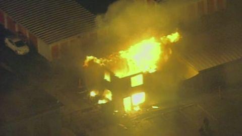 vos ferguson public storage building fire michael brown_00003511.jpg