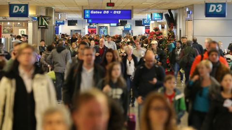 To get to those Thanksgiving dinners, 46.3 million people are estimated to be traveling. Is it just a coincidence that the number of travelers and the number of turkeys are almost identical?